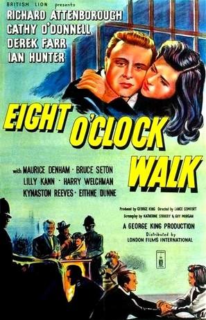 Eight O'Clock Walk - British Movie Poster (thumbnail)