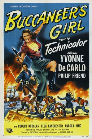 Buccaneer's Girl - Movie Poster (thumbnail)