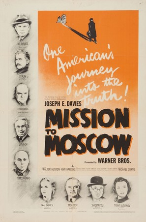 Mission to Moscow - Movie Poster (thumbnail)