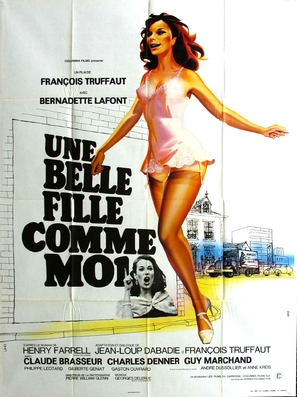 Une belle fille comme moi - French Movie Poster (thumbnail)