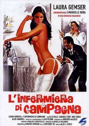 L'infermiera di campagna - Italian Movie Poster (thumbnail)
