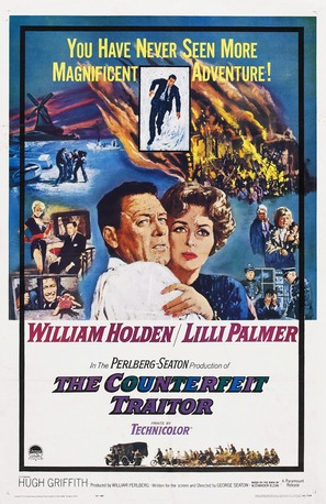The Counterfeit Traitor - Movie Poster (thumbnail)
