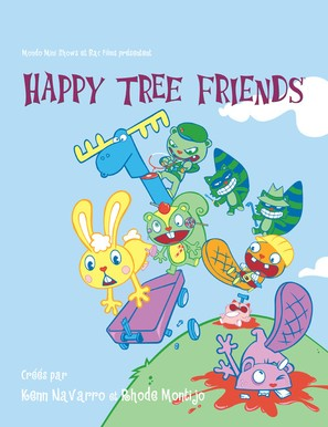 """Happy Tree Friends"" - French Movie Poster (thumbnail)"