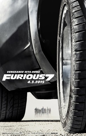 Furious 7 - Movie Poster (thumbnail)