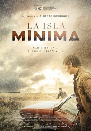 La isla mínima - Spanish Movie Poster (thumbnail)