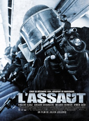 L'assaut - French Movie Poster (thumbnail)