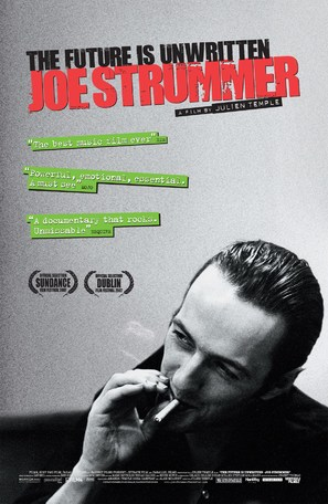 Joe Strummer: The Future Is Unwritten - British Theatrical movie poster (thumbnail)