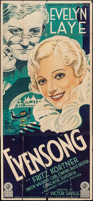 Evensong - British Movie Poster (thumbnail)