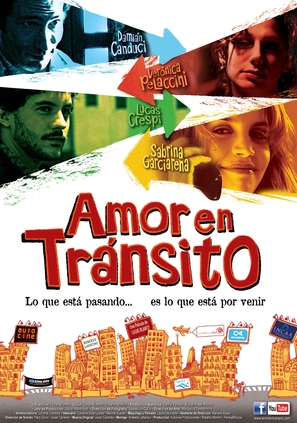 Amor en tránsito - Argentinian Movie Poster (thumbnail)
