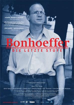 Bonhoeffer: Agent of Grace - German poster (thumbnail)