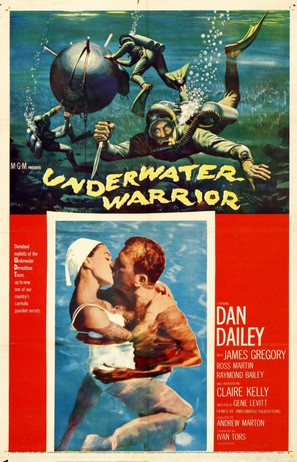 Underwater Warrior - Movie Poster (thumbnail)