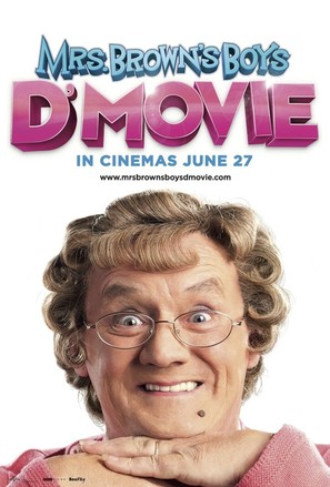Mrs. Brown's Boys D'Movie - British Movie Poster (thumbnail)