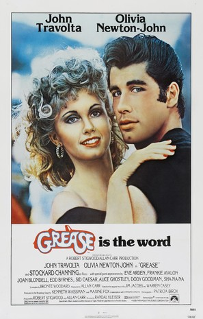 Grease - Movie Poster (thumbnail)