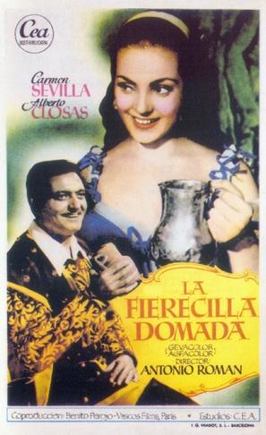 La fierecilla domada - Spanish Movie Poster (thumbnail)