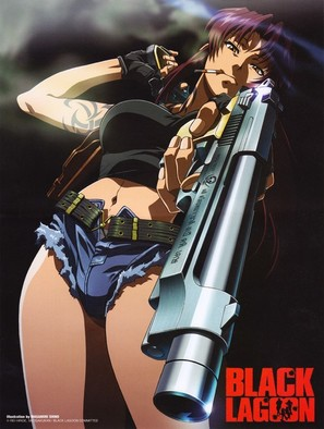 """Black Lagoon"" - Japanese Movie Poster (thumbnail)"
