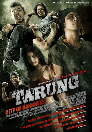 Tarung: City of the Darkness - Indonesian Movie Poster (thumbnail)