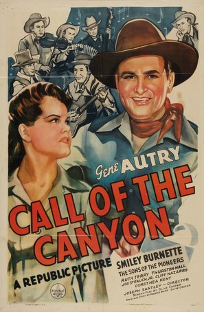 Call of the Canyon - Movie Poster (thumbnail)