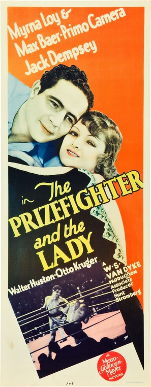 The Prizefighter and the Lady - Movie Poster (thumbnail)