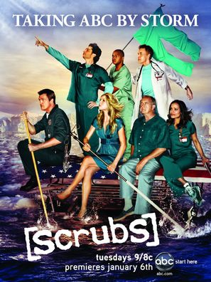 """Scrubs"" - Movie Poster (thumbnail)"