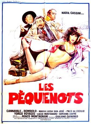 L'amante tutta da scoprire - French Movie Poster (thumbnail)