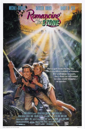 Romancing the Stone - Movie Poster (thumbnail)