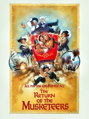 The Return of the Musketeers - British Movie Poster (thumbnail)