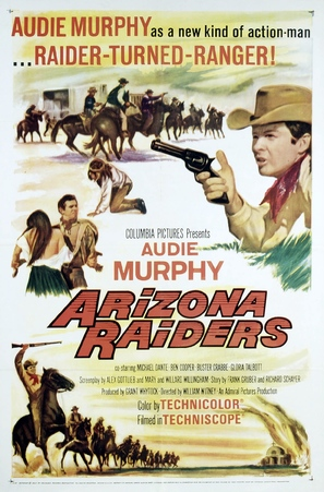 Arizona Raiders - Movie Poster (thumbnail)