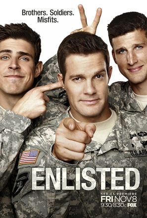 """Enlisted"" - Movie Poster (thumbnail)"