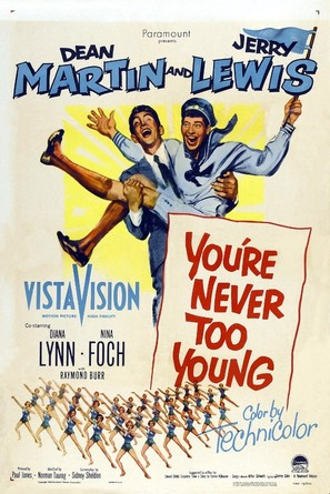 You're Never Too Young - Movie Poster (thumbnail)