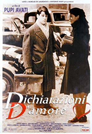 Dichiarazioni d'amore - Italian Movie Poster (thumbnail)