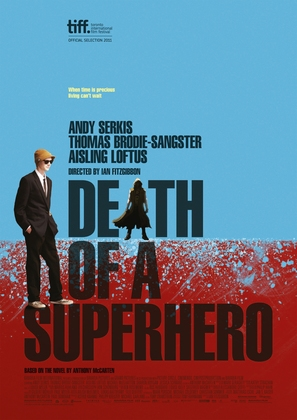 Death of a Superhero - British Movie Poster (thumbnail)