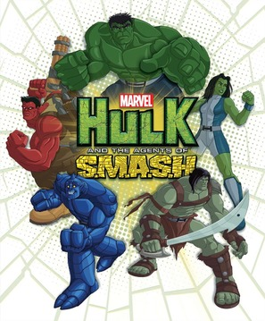 """Hulk and the Agents of S.M.A.S.H."" - Movie Poster (thumbnail)"