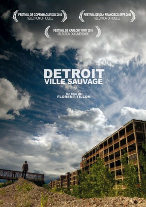 Detroit, ville sauvage - French Movie Poster (thumbnail)