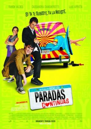 Paradas continuas - Mexican Movie Poster (thumbnail)