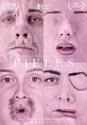 Pieles - Spanish Movie Poster (thumbnail)