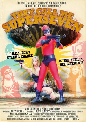 They Call Me Superseven - Movie Poster (thumbnail)
