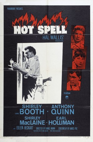 Hot Spell - Movie Poster (thumbnail)