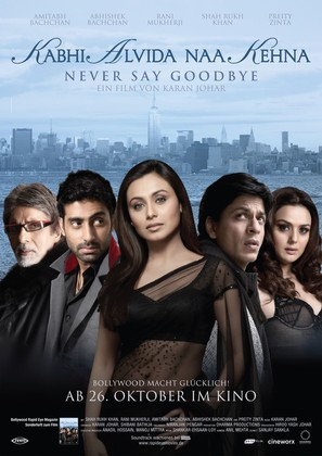 Kabhi Alvida Naa Kehna - German Movie Poster (thumbnail)