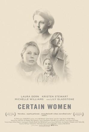 Certain Women - Movie Poster (thumbnail)