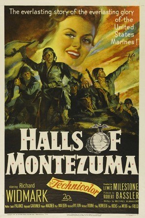 Halls of Montezuma - Movie Poster (thumbnail)