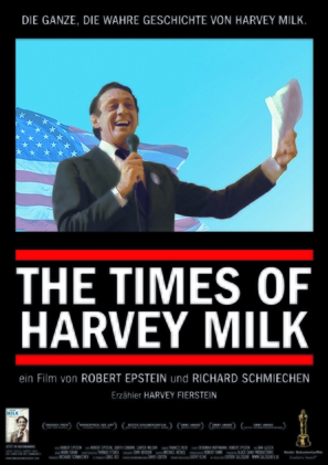 The Times of Harvey Milk - German Movie Poster (thumbnail)