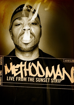 Method Man: Live from the Sunset Strip - DVD cover (thumbnail)