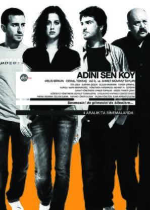 Adini sen koy - Turkish Movie Poster (thumbnail)