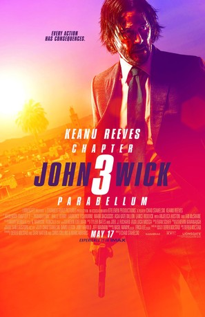 John Wick: Chapter 3 - Parabellum - Theatrical movie poster (thumbnail)