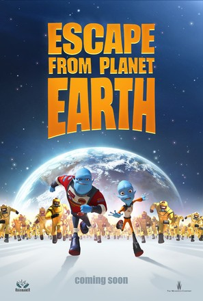 Escape from Planet Earth - Movie Poster (thumbnail)