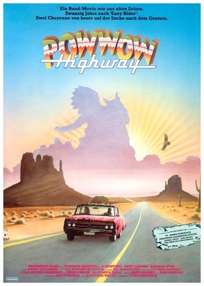 Powwow Highway - German Movie Poster (thumbnail)
