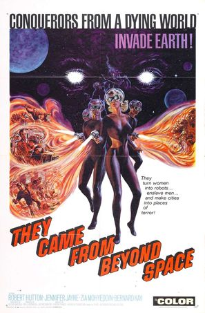 They Came from Beyond Space - Movie Poster (thumbnail)