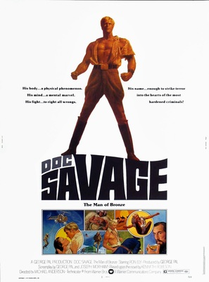 Doc Savage: The Man of Bronze - Movie Poster (thumbnail)