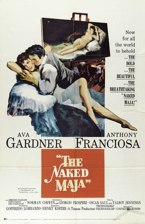 The Naked Maja - Movie Poster (thumbnail)