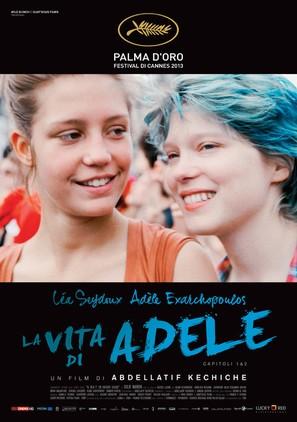 La vie d'Adèle - Italian Movie Poster (thumbnail)